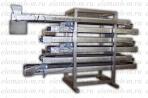 Transportador de refrigeración para productos de confitería y productos horneados