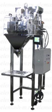 Dosificador pesador semiautomático DV2-0,5